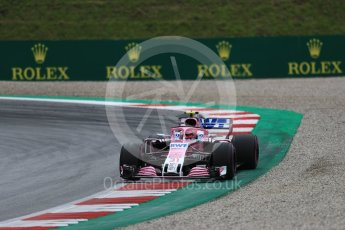 World © Octane Photographic Ltd. Formula 1 – Austrian GP - Practice 2. Sahara Force India VJM11 - Esteban Ocon. Red Bull Ring, Spielberg, Austria. Friday 29th June 2018.