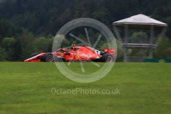 World © Octane Photographic Ltd. Formula 1 – Austrian GP - Practice 2. Scuderia Ferrari SF71-H – Kimi Raikkonen. Red Bull Ring, Spielberg, Austria. Friday 29th June 2018.