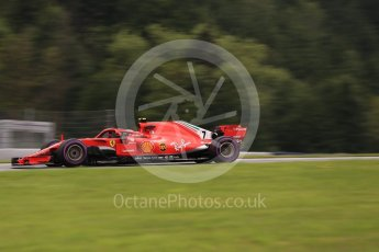 World © Octane Photographic Ltd. Formula 1 – Austrian GP - Practice 2. Scuderia Ferrari SF71-H – Kimi Raikkonen. Red Bull Ring, Spielberg, Austria. Friday 29th June 2018.