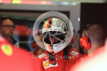 World © Octane Photographic Ltd. Formula 1 – Austrian GP - Paddock. Scuderia Ferrari SF71-H – Sebastian Vettel. Red Bull Ring, Spielberg, Austria. Saturday 30th June 2018.