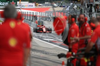 World © Octane Photographic Ltd. Formula 1 – Austrian GP - Practice 3. Scuderia Ferrari SF71-H – Sebastian Vettel. Red Bull Ring, Spielberg, Austria. Saturday 30th June 2018.