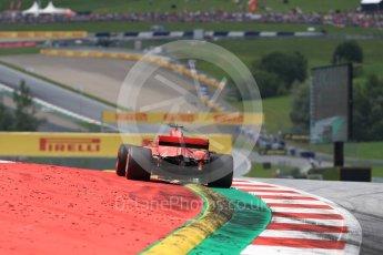 World © Octane Photographic Ltd. Formula 1 – Austrian GP - Qualifying. Scuderia Ferrari SF71-H – Sebastian Vettel. Red Bull Ring, Spielberg, Austria. Saturday 30th June 2018.