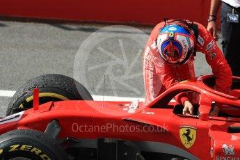 World © Octane Photographic Ltd. Formula 1 – Austrian GP - Race Podium. Scuderia Ferrari SF71-H – Kimi Raikkonen. Red Bull Ring, Spielberg, Austria. Sunday 1st July 2018.