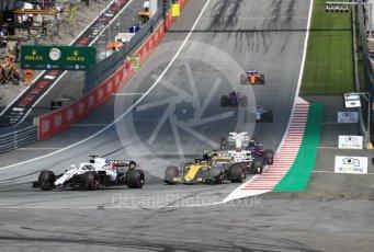 World © Octane Photographic Ltd. Formula 1 – Austrian GP - Race. Renault Sport F1 Team RS18 – Carlos Sainz. Red Bull Ring, Spielberg, Austria. Sunday 1st July 2018.