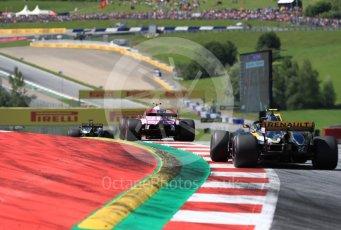 World © Octane Photographic Ltd. Formula 1 – Austrian GP - Race. Sahara Force India VJM11 - Esteban Ocon. Red Bull Ring, Spielberg, Austria. Sunday 1st July 2018.
