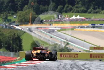 World © Octane Photographic Ltd. Formula 1 – Austrian GP - Race. McLaren MCL33 – Stoffel Vandoorne. Red Bull Ring, Spielberg, Austria. Sunday 1st July 2018.