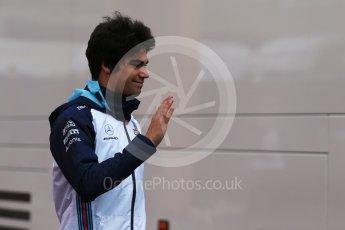 World © Octane Photographic Ltd. Formula 1 – Austrian GP - Paddock. Williams Martini Racing FW41 – Lance Stroll. Red Bull Ring, Spielberg, Austria. Friday 29th June 2018.