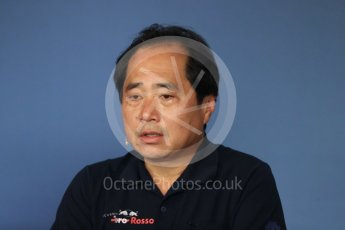 World © Octane Photographic Ltd. Formula 1 - Austrian GP - Friday FIA Team Press Conference. Toyoharu Tanabe – Honda Performance Development (HPD) Senior Manager. Red Bull Ring, Spielberg, Austria. Friday 29th June 2018.