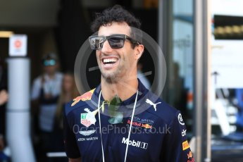 World © Octane Photographic Ltd. Formula 1 – Austrian GP - Paddock. Aston Martin Red Bull Racing TAG Heuer RB14 – Daniel Ricciardo. Red Bull Ring, Spielberg, Austria. Sunday 1st July 2018.