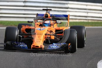 World © Octane Photographic Ltd. Formula 1 – Belgian GP - Practice 1. McLaren MCL33 Reserve Driver – Lando Norris. Spa-Francorchamps, Belgium. Friday 24th August 2018.