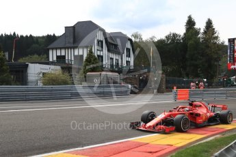 World © Octane Photographic Ltd. Formula 1 – Belgian GP - Practice 2. Scuderia Ferrari SF71-H – Sebastian Vettel. Spa-Francorchamps, Belgium. Friday 24th August 2018.
