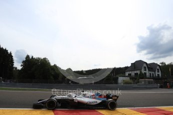 World © Octane Photographic Ltd. Formula 1 – Belgian GP - Practice 2. Williams Martini Racing FW41 – Lance Stroll. Spa-Francorchamps, Belgium. Friday 24th August 2018.