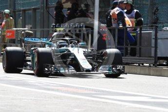 World © Octane Photographic Ltd. Formula 1 – Belgian GP - Practice 3. Mercedes AMG Petronas Motorsport AMG F1 W09 EQ Power+ - Valtteri Bottas. Spa-Francorchamps, Belgium. Saturday 25th August 2018.