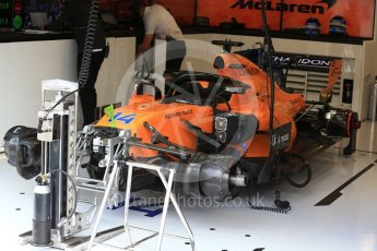 World © Octane Photographic Ltd. Formula 1 – Belgian GP - Practice 3. McLaren MCL33 – Fernando Alonso. Spa-Francorchamps, Belgium. Saturday 25th August 2018.