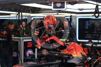 World © Octane Photographic Ltd. Formula 1 – Belgian GP - Practice 3. Aston Martin Red Bull Racing TAG Heuer RB14 – Max Verstappen. Spa-Francorchamps, Belgium. Saturday 25th August 2018.