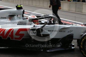 World © Octane Photographic Ltd. Formula 1 – Belgian GP - Practice 3. Haas F1 Team VF-18 – Kevin Magnussen. Spa-Francorchamps, Belgium. Saturday 25th August 2018.