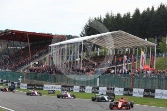 World © Octane Photographic Ltd. Formula 1 – Belgian GP - Race. Scuderia Ferrari SF71-H – Sebastian Vettel. Spa-Francorchamps, Belgium. Sunday 26th August 2018.