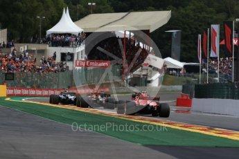 World © Octane Photographic Ltd. Formula 1 – Belgian GP - Race. Scuderia Ferrari SF71-H – Kimi Raikkonen. Spa-Francorchamps, Belgium. Sunday 26th August 2018.