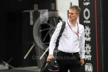 World © Octane Photographic Ltd. Formula 1 - Belgian GP - Paddock. James Allison - Technical Director of Mercedes-AMG Petronas Motorsport. Spa-Francorchamps, Belgium. Friday 24th August 2018.