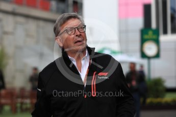 World © Octane Photographic Ltd. Formula 1 - Belgian GP - Paddock. Ross Brawn – Managing Director of Formula 1 for Liberty Media. Spa-Francorchamps, Belgium. Saturday 25th August 2018.