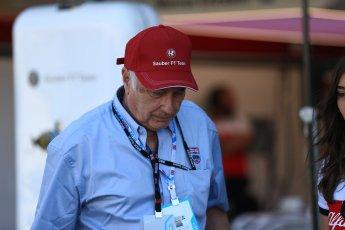 World © Octane Photographic Ltd. Formula 1 - British GP - Paddock. Ruben Juan Fangio - son of Juan Manuel Fangio. Silverstone Circuit, Towcester, UK. Sunday 8th July 2018.