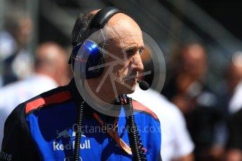 World © Octane Photographic Ltd. Formula 1 - British GP - Grid. Franz Tost – Team Principal of Scuderia Toro Rosso. Silverstone Circuit, Towcester, UK. Sunday 8th July 2018.