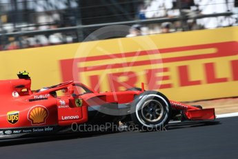 World © Octane Photographic Ltd. Formula 1 – British GP - Qualifying. Scuderia Ferrari SF71-H – Kimi Raikkonen. Silverstone Circuit, Towcester, UK. Saturday 7th July 2018.