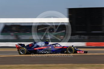 World © Octane Photographic Ltd. Formula 1 – British GP - Qualifying. Scuderia Toro Rosso STR13 – Pierre Gasly. Silverstone Circuit, Towcester, UK. Saturday 7th July 2018.