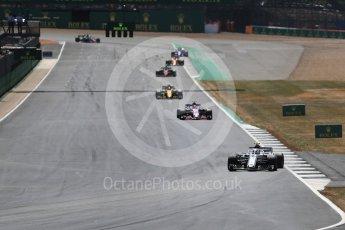 World © Octane Photographic Ltd. Formula 1 – British GP - Race. Alfa Romeo Sauber F1 Team C37 – Charles Leclerc. Silverstone Circuit, Towcester, UK. Sunday 8th July 2018.