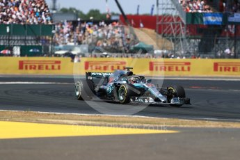 World © Octane Photographic Ltd. Formula 1 – British GP - Race. Mercedes AMG Petronas Motorsport AMG F1 W09 EQ Power+ - Lewis Hamilton. Silverstone Circuit, Towcester, UK. Sunday 8th July 2018.