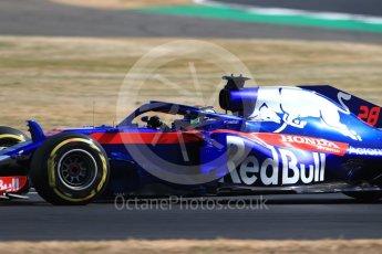 World © Octane Photographic Ltd. Formula 1 – British GP - Practice 1. Scuderia Toro Rosso STR13 – Brendon Hartley. Silverstone Circuit, Towcester, UK. Friday 6th July 2018.