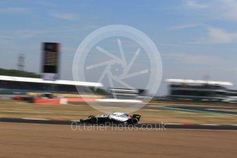 World © Octane Photographic Ltd. Formula 1 – British GP - Practice 1. Williams Martini Racing FW41 – Sergey Sirotkin. Silverstone Circuit, Towcester, UK. Friday 6th July 2018.