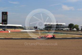 World © Octane Photographic Ltd. Formula 1 – British GP - Practice 1. Scuderia Ferrari SF71-H – Kimi Raikkonen. Silverstone Circuit, Towcester, UK. Friday 6th July 2018.