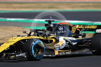 World © Octane Photographic Ltd. Formula 1 – British GP - Practice 2. Renault Sport F1 Team RS18 – Nico Hulkenberg. Silverstone Circuit, Towcester, UK. Friday 6th July 2018.