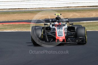 World © Octane Photographic Ltd. Formula 1 – British GP - Practice 2. Haas F1 Team VF-18 – Kevin Magnussen. Silverstone Circuit, Towcester, UK. Friday 6th July 2018.