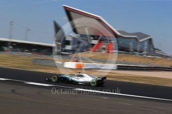 World © Octane Photographic Ltd. Formula 1 – British GP - Practice 2. Mercedes AMG Petronas Motorsport AMG F1 W09 EQ Power+ - Valtteri Bottas. Silverstone Circuit, Towcester, UK. Friday 6th July 2018.