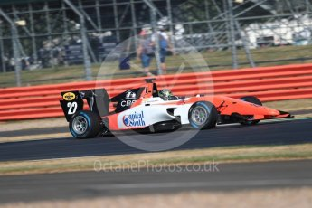 World © Octane Photographic Ltd. GP3 – British GP – Practice. MP Motorsport - Dorian Boccolacci. Silverstone Circuit, Towcester, UK. Friday 6th July 2018.