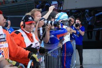 World © Octane Photographic Ltd. GP3 – British GP – Race 2. Trident - Ryan Tveter. Silverstone Circuit, Towcester, UK. Sunday 8th July 2018.