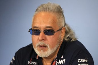 World © Octane Photographic Ltd. Formula 1 - British GP - Friday FIA Team Press Conference. Vijay Mallya - Shareholder and Team Principal of Sahara Force India. Silverstone Circuit, Towcester, UK. Friday 6th July 2018.