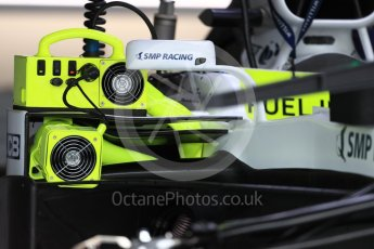 World © Octane Photographic Ltd. Formula 1 – British GP - Pit Lane. Williams Martini Racing FW41. Silverstone Circuit, Towcester, UK. Thursday 5th July 2018.