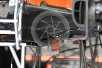 World © Octane Photographic Ltd. Formula 1 – British GP - Pit Lane. McLaren MCL33. Silverstone Circuit, Towcester, UK. Thursday 5th July 2018.