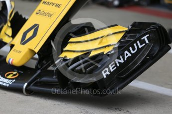 World © Octane Photographic Ltd. Formula 1 – British GP - Pit Lane. Renault Sport F1 Team RS18. Silverstone Circuit, Towcester, UK. Thursday 5th July 2018.