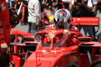 World © Octane Photographic Ltd. Formula 1 – Canadian GP - Grid. Scuderia Ferrari SF71-H – Kimi Raikkonen. Circuit Gilles Villeneuve, Montreal, Canada. Sunday 10th June 2018.