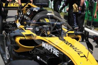 World © Octane Photographic Ltd. Formula 1 – Canadian GP - Grid. Renault Sport F1 Team RS18 – Nico Hulkenberg. Circuit Gilles Villeneuve, Montreal, Canada. Sunday 10th June 2018.