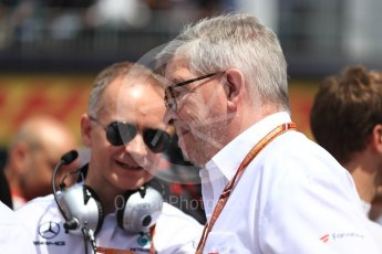 World © Octane Photographic Ltd. Formula 1 - Canadian GP - Driver Parade. Ross Brawn – Managing Director of Formula 1 for Liberty Media. Circuit Gilles Villeneuve, Montreal, Canada. Sunday 10th June 2018.