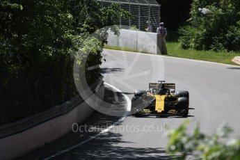 World © Octane Photographic Ltd. Formula 1 – Canadian GP - Practice 1. Renault Sport F1 Team RS18 – Nico Hulkenberg. Circuit Gilles Villeneuve, Montreal, Canada. Friday 8th June 2018.