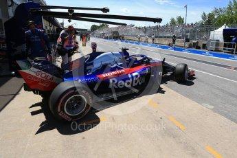 World © Octane Photographic Ltd. Formula 1 – Canadian GP - Practice 3. Scuderia Toro Rosso STR13 – Brendon Hartley. Circuit Gilles Villeneuve, Montreal, Canada. Saturday 9th June 2018.