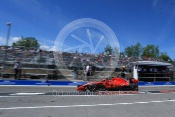 World © Octane Photographic Ltd. Formula 1 – Canadian GP - Practice 3. Scuderia Ferrari SF71-H – Kimi Raikkonen. Circuit Gilles Villeneuve, Montreal, Canada. Saturday 9th June 2018.