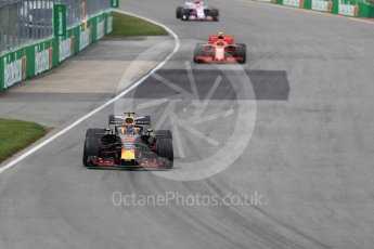 World © Octane Photographic Ltd. Formula 1 – Canadian GP - Race. Aston Martin Red Bull Racing TAG Heuer RB14 – Daniel Ricciardo. Circuit Gilles Villeneuve, Montreal, Canada. Sunday 10th June 2018.