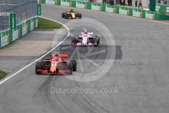 World © Octane Photographic Ltd. Formula 1 – Canadian GP - Race. Scuderia Ferrari SF71-H – Kimi Raikkonen. Circuit Gilles Villeneuve, Montreal, Canada. Sunday 10th June 2018.